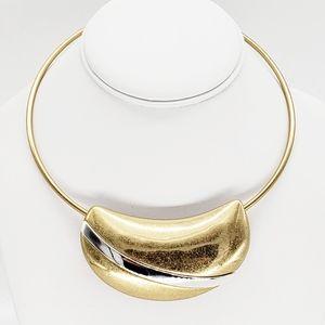 NWT RLM NWT Geometric Round Wire Collar Necklace